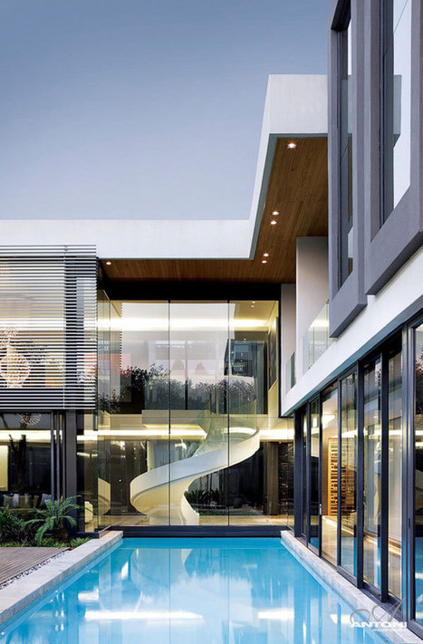 U-Shaped Modern Residence in Johannesburg Displaying Extravagant Features | Inspired By Design | Scoop.it