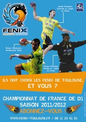 TOULOUSE HANDBALL ABONNEMENTS 2011/2012 | Toulouse La Ville Rose | Scoop.it