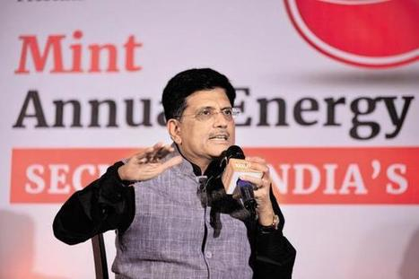 After solar energy, focus is now on hydro, wind, says Piyush Goyal | Energy, Infrastructure & Technology | Scoop.it
