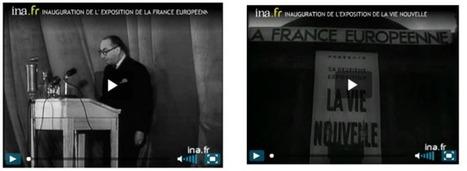Le site ina.fr a supprimé les vidéos des expositions de la France européenne sous Vichy | Shabba's news | Scoop.it
