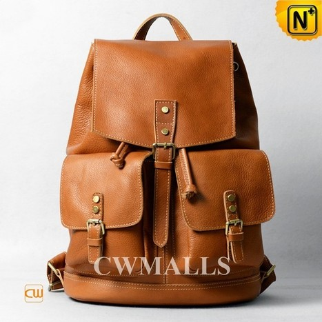 CWMALLS® Leather Laptop Backpack for Men CW915793   Mens Business Bags   Scoop.it