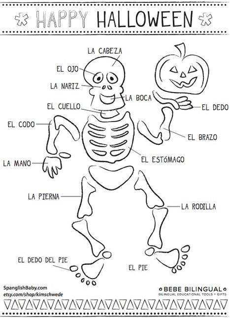 Meet Bebe Bilingual! {Printable Coloring Sheet}   Francais pour le college   Scoop.it