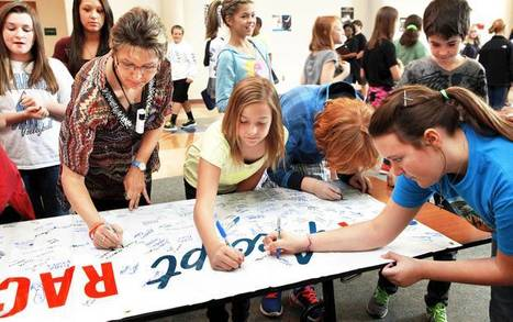 Edmond students pledge to embrace kindness during anti-bullying program - NewsOK.com | K-12 Internet Safety | Scoop.it