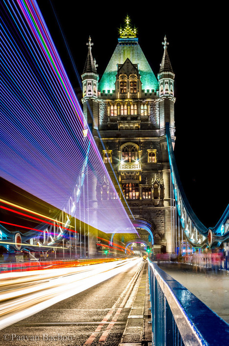 Tower Bridge at Night, London, England   Essentially England - For English History and Food Lovers   Scoop.it