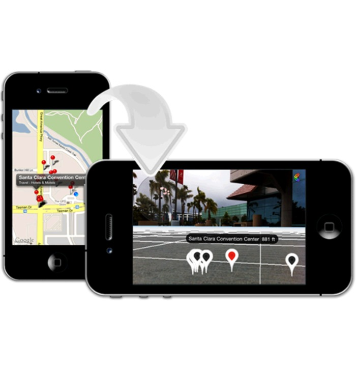 Library To Quickly Turn A Map Kit MapView Into A 3D Augmented Reality Map View | iPhone and iPad development | Scoop.it