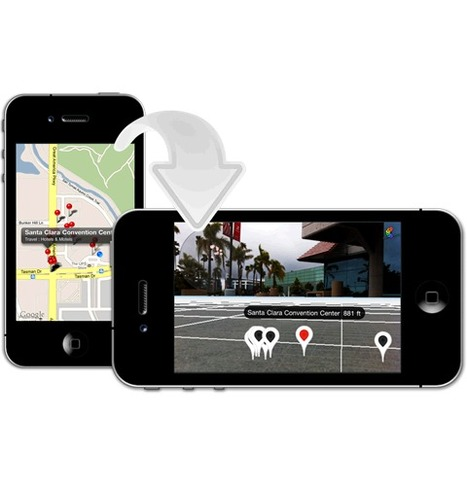 Library To Quickly Turn A Map Kit MapView Into A 3D Augmented Reality Map View | Learn iOS | Scoop.it