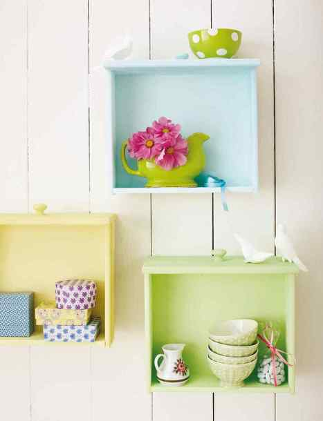 20 Diy Ideas How to Reuse Old Drawers - Architecture Art Designs | up-cycling | Scoop.it
