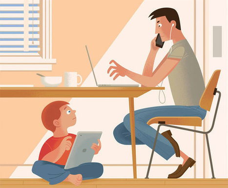 How to Cut Children's Screen Time? Say No to Yourself First. | Advancement of Teaching & Learning | Scoop.it