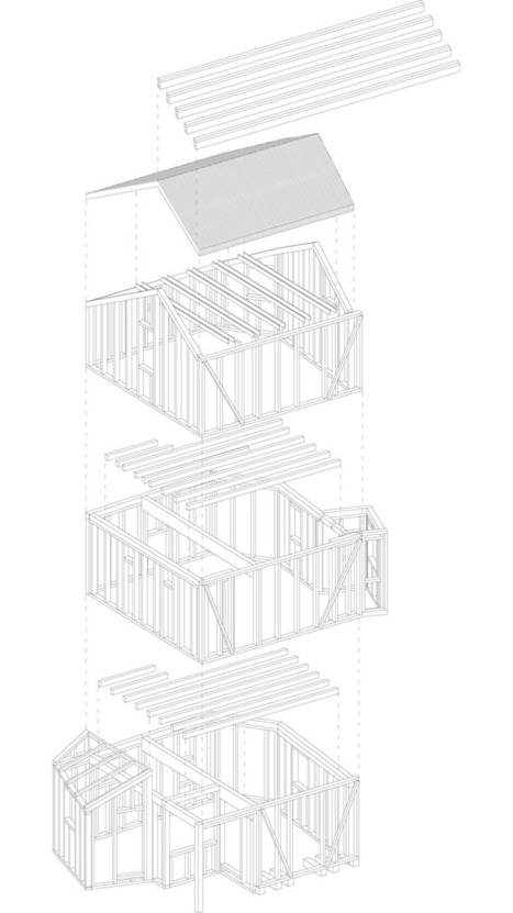 studio albori: CASA SOLARE in vens, italy | The Architecture of the City | Scoop.it