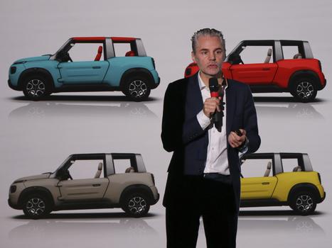 Citroën E-Mehari (2016) : décryptage design du cabriolet électrique | Voitures anciennes - Classic cars - Concept cars | Scoop.it