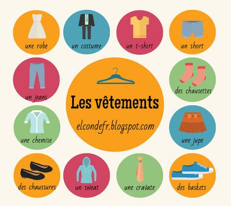 El Conde. fr: Petit lexique des vêtements en français | Ideas, readings and resources for teachers of French | Scoop.it