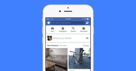 Facebook Marketplace Wants to Be Your New Craigslist | Retail and Technology | Scoop.it