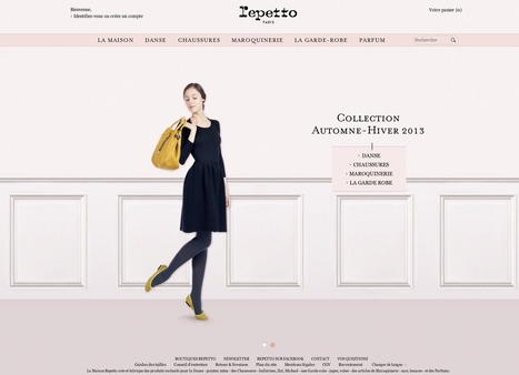 La Stratégie Digitale de Repetto | Marketing Digital | Scoop.it