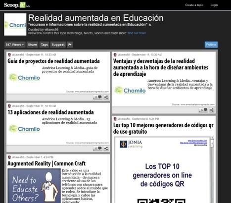 Realidad aumentada en educación | Recull diari | Scoop.it