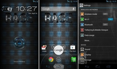 Custom ROM Friday: RageHD for the Motorola DROID RAZR HD ... | Android Now | Scoop.it