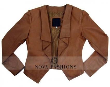 Caroline Channing 2 Broke Girls Leather Jacket | Current Fashion Updates - 2015 | Scoop.it