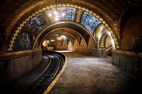 New York City's Hidden Subway Station | INTRODUCTION TO THE SOCIAL SCIENCES DIGITAL TEXTBOOK(PSYCHOLOGY-ECONOMICS-SOCIOLOGY):MIKE BUSARELLO | Scoop.it