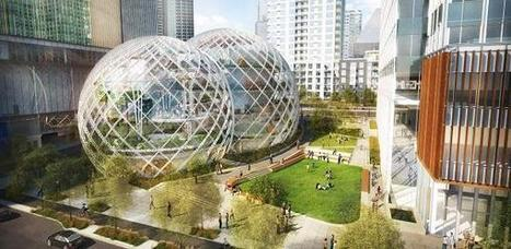 Architectural Innovation: Amazon's Biomorphic Spherical Headquarters in Seattle | NEEEWS | Scoop.it