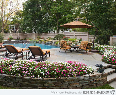 15 Landscaping Concepts for Flower Beds - House and Decoration | Turf Maintenance | Scoop.it