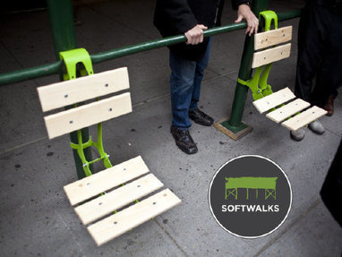 Softwalks: Turning Scaffolding into Pop-up Parks | Sizzlin' News | Scoop.it