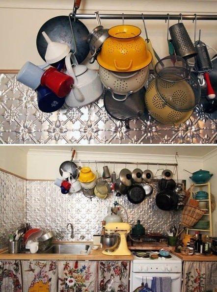 Dishfunctional Designs: Embossed Tin Ceiling Tiles: Recycled & Repurposed | Designing Interiors | Scoop.it