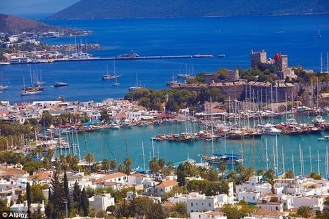 Bodrum beauty! One villa, three families, six children and not a worry in the ... - Daily Mail | Icmeler, Marmaris, Mugla,Turkey | Scoop.it