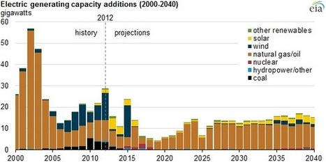 EIA projects modest needs for new electric generation capacity - Today in Energy - U.S. Energy Information Administration (EIA)   Sustainable Futures   Scoop.it