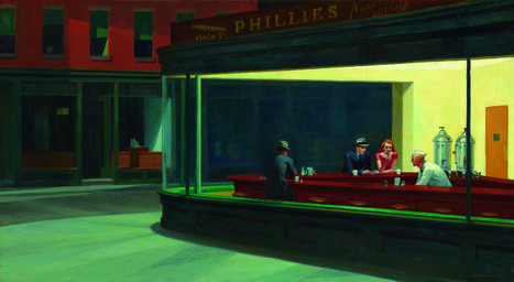 "Les peintures ""réalistes"" d'Edward Hopper au Grand Palais 