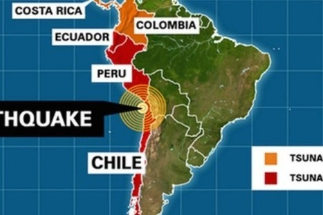 The terrifying reality of Chile's 8.2 earthquake caught on video | The Life Strategic | Scoop.it