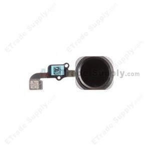 Apple iPhone 6 Home Button Assembly with Flex Ribbon - Black | Other Spare Parts | Scoop.it