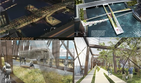 Gallery of Boston Society of Architects Announces Northern Avenue Bridge Ideas Competition Winners  - 1 | retail and design | Scoop.it