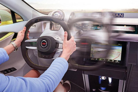 Movable Steering Wheel Has a Future in Autonomous Cars - Bold Ride Blog (blog) | The Five Most Important Technologies In The Next 5 To 10 Years | Scoop.it