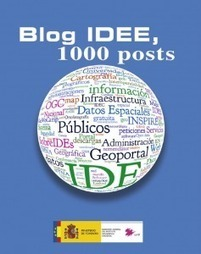 Disponible para descarga el libro del Blog IDEE | CEREGeo - Geomática | Scoop.it