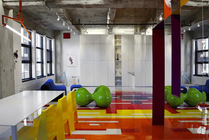 Colorful Loft by Jean Verville | Interiors | Scoop.it