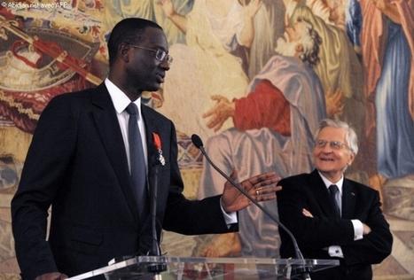 Tidjane Thiam distingue dans la Légion d`honneur française par l`ancien président de la Banque centrale européenne Jean-Claude Trichet. - Abidjan.net Photos | CAEXI Expertises | Scoop.it