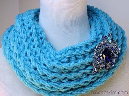 Ridgie Cowl Free Crochet Pattern | FREE Crochet Patterns | Scoop.it