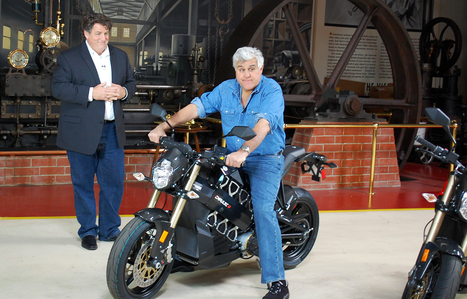 Brammo Empulse R on Jay Leno's Garage.   Facebook   Brammo Electric Motorcycles   Scoop.it