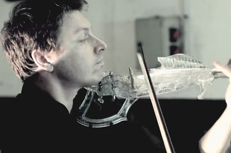 Awesome 3D-printed violin by 3Dvarius. Jazz! | Violins | Scoop.it