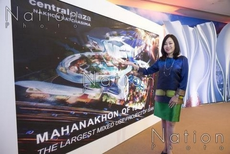 CPN announces  Bt10 bn mixed-use project in Korat - The Nation | Nakhon Ratchasima | Scoop.it