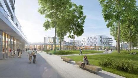 Dunkerque: le futur quartier de commerces et de logements autour du parc de la Marine se dévoile - La Voix du Nord | Dunkerque | Scoop.it