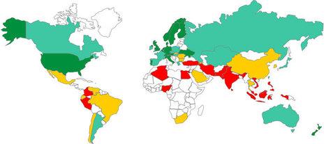The Global Talent Map – 2011 Global Talent Index   Dossier Albert Castelltort   Scoop.it