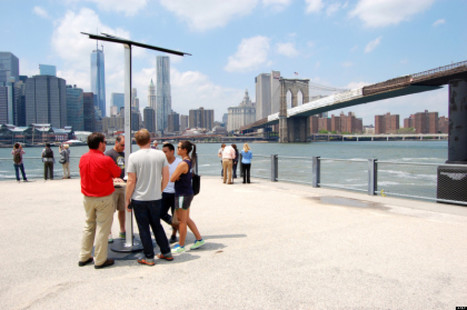 Solar-Powered Phone Charging Station Debut In NYC   Alternative Renewable Energy Solutions   Scoop.it