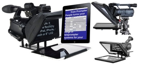 Teleprompter software and solution for confident speech delivery | Teleprompter for speech delivery | Scoop.it