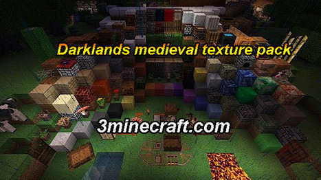 Darklands Medieval Resource Pack for Minecraft 1.6.3/1.6.2 | Minecraft Resource Packs 1.7.10, 1.7.2 | Scoop.it