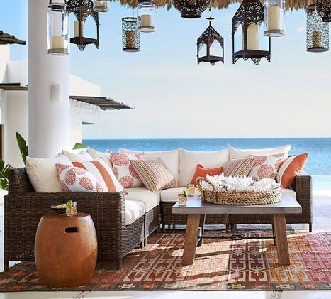 American Design: Florida Tropics | KOUBOO.com - Well Traveled Home Decor & Interior Design | Scoop.it