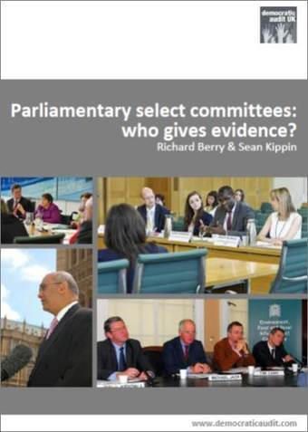 Parliamentary select committees: who gives evidence? | gender | Scoop.it