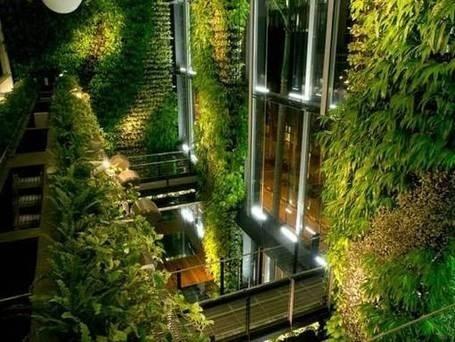 El Jardín Vertical de San Vicente filtra cerca de 220 toneladas de gases contaminantes. | Jardines Verticales y azoteas verdes. | Scoop.it