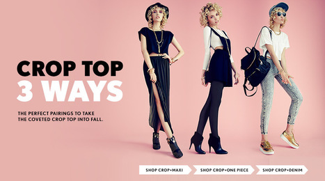 Forever 21 - Shop fashionable clothing for women, plus, girls, men | fashion | Scoop.it