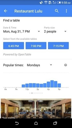 Google Shows Real-Time Crowds, but Merchants are still Dangerously Ignorant | Restaurant Technology News, Ideas & Articles | Scoop.it