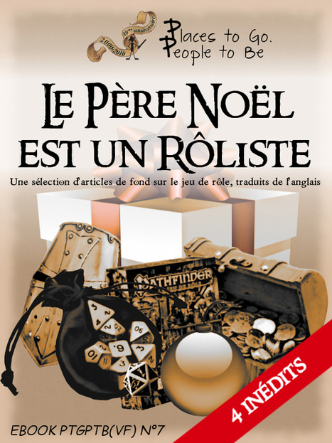 e-book 7 : Le Père Noël est un rôliste | Places to Go, People to Be | Jeux de Rôle | Scoop.it